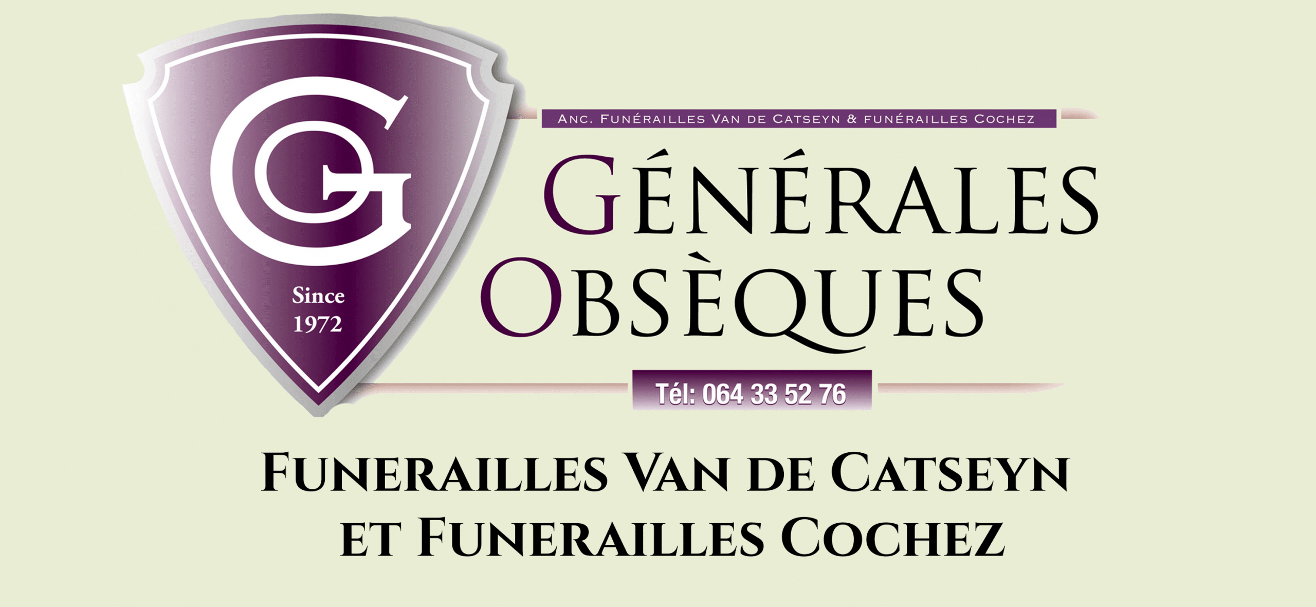 GENERALES OBSEQUES SPRL
